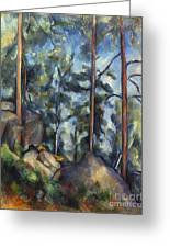 Cezanne: Pines, 1896-99 Greeting Card
