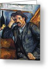 Cezanne: Pipe Smoker, 1900 Greeting Card