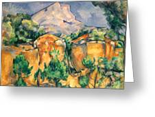 Cezanne: Sainte-victoire Greeting Card