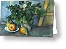 Cezanne: Still Life, C1888 Greeting Card