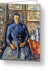 Cezanne: Woman, 1890-95 Greeting Card
