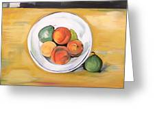 Cezannes Fruit Bowl Greeting Card