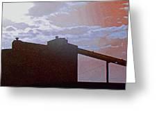 Cfi Silhouette 3 Greeting Card
