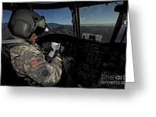 Ch-47 Chinook Pilot Refers Greeting Card