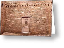 Chaco Canyon Doorways 5 Greeting Card