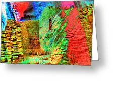 Chaco Culture Abstract Greeting Card