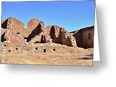 Chaco Ruins  Greeting Card