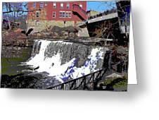 Chagrin Falls  Greeting Card