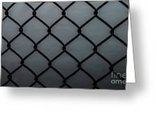 Chain Fence Greeting Card