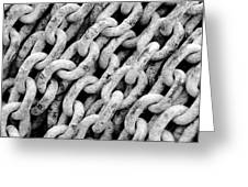 Chain Links Greeting Card