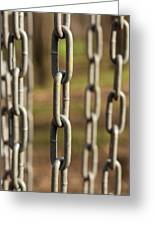 Chains Abstract 1 Greeting Card
