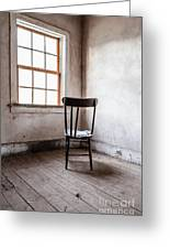 Chair By The Window Grafton Ghost Town Greeting Card