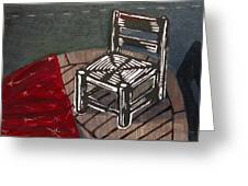 Chair II Greeting Card