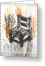 Chair IIi Greeting Card by Peter Allan