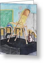 Chair Life Study Greeting Card