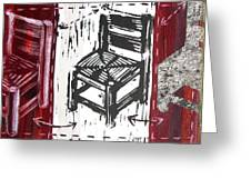 Chair V Greeting Card