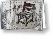 Chair Vii Greeting Card