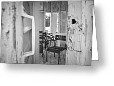 Chairs And Doors  Greeting Card