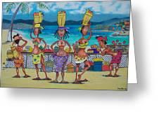 Chakra Market Greeting Card