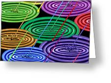 Chakra Shower I Greeting Card