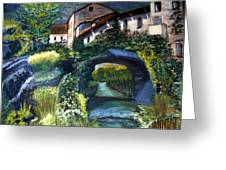 Chalet Greeting Card