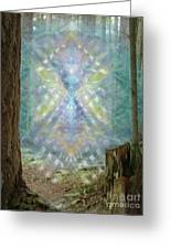 Chalice-tree Spirt In The Forest V2 Greeting Card
