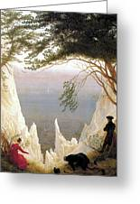 Chalk Cliffs Greeting Card