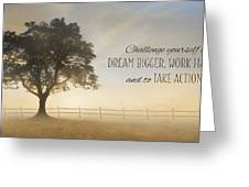 Challenge Yourself Greeting Card