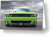 Challenger Scat Pack Greeting Card