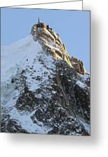 Chamonix - Aiguille Du Midi Greeting Card