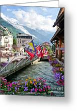 Chamonix, France Greeting Card