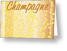 Champagne Greeting Card