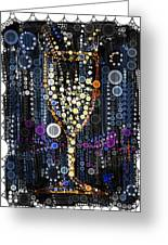 Champagne Flute Greeting Card by Russell Pierce