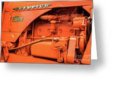 Champion 9g Tractor 02 Greeting Card