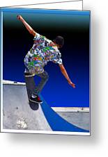 Champion Skater Greeting Card
