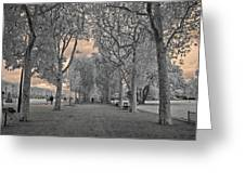 Champs De Mars Greeting Card