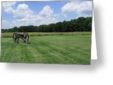 Chancellorsville Battlefield 2 Greeting Card