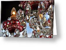 Chandelier Project 3 Greeting Card