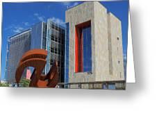 Chandler City Hall 2 Greeting Card