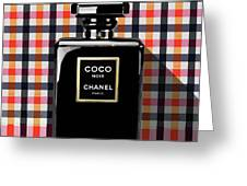 Chanel Coco Noir-pa-kao-ma2 Greeting Card