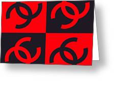 Chanel Design-3 Greeting Card