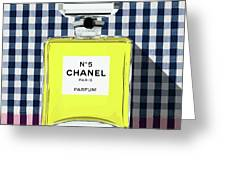 Chanel-no.5-pa-kao-ma1 Greeting Card