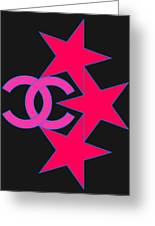 Chanel Stars-9 Greeting Card