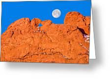 Chang-o, The Chinese Moon Goddess  Greeting Card