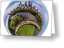 Change Your Perspective Minneapolis White Surround Greeting Card