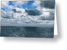 Changing Horizon Greeting Card