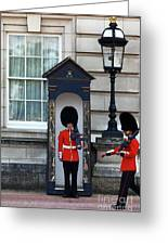 Changing Of The Guard 2 Greeting Card