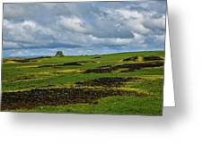 Changing Skies And Landscape Greeting Card