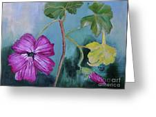 Channel Islands' Island Mallow Greeting Card
