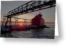 Channel Light, Dawn Greeting Card
